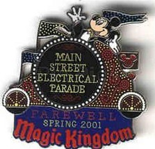 Main Street Electrical Parade Authentic Disney  WDW Pin/Pins - $55.99
