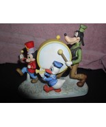 Marching Band Goofy Donald Duck  Mickey Walt Disney Productions porcelai... - $99.99