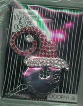 Nightmare Before Christmas NMBC  Jack Santa Jeweled Brooch Pin/Pins - $149.99