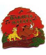 Simba Pumba Timon singing Hakuna Matata Authentic Lion King  DISNEY Pin/Pins - $14.01