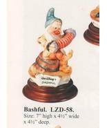 Snow White Bashful Musician Disney Laurenz Capodimonte  C.O.A. Original Box - $299.00