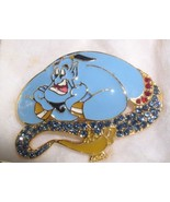The Genie  Swarovski Austrian crystals from Disney's movie Aladdin Pin B... - $77.38