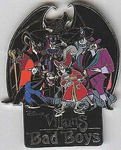 Villains - Bad Boys Disneyland  DLR in original Box pin/pins - $65.99
