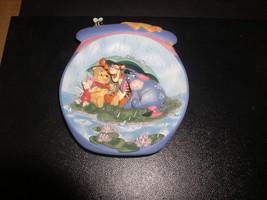 Winnie the Pooh Tigger Piglet Eeyore 3D relief plate Disney - $39.99