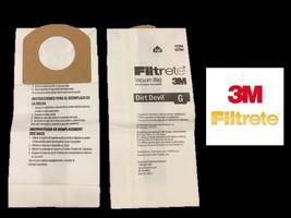 Dirt Devil G Type Vacuum bags (9 Bags) by 3M Dirt Devil G Bags 3010347001 - $8.41