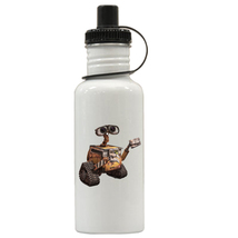 WALL-E Personalized Custom Water Bottle, Add Childs Name - $19.99