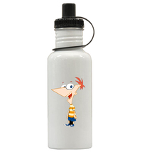 Phineas and Ferb Personalized Custom Water Bottle #2, Add Childs Name - $19.99