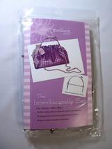 Interchangeable Bag Pattern Plus Purse Handle by Ellen Medlock - $30.95