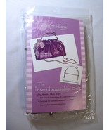 Interchangeable Bag Pattern Plus Purse Handle b... - $30.95