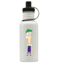 Phineas & Ferb Personalized Custom Water Bottle #3, Add Childs Name - $19.99