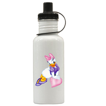 Daisy Duck Personalized Custom Water Bottle, Add Childs Name - $19.99