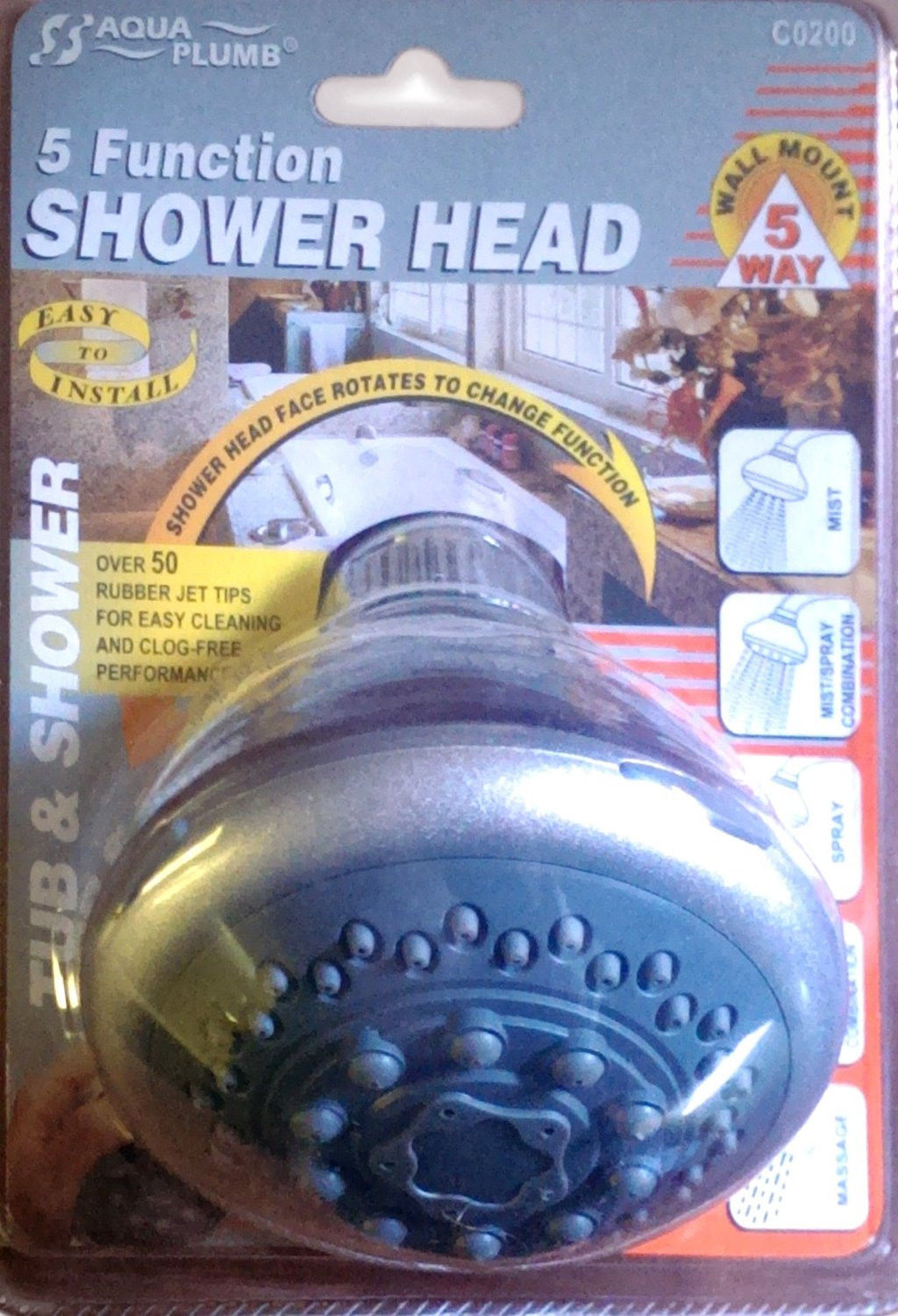 Primary image for Massage Shower Head, 5 Function