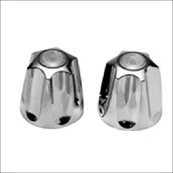 Price Pfister Verve Tub & Shower Handles Chrome Set of 3 - Hot, Cold & Diverter - $26.88