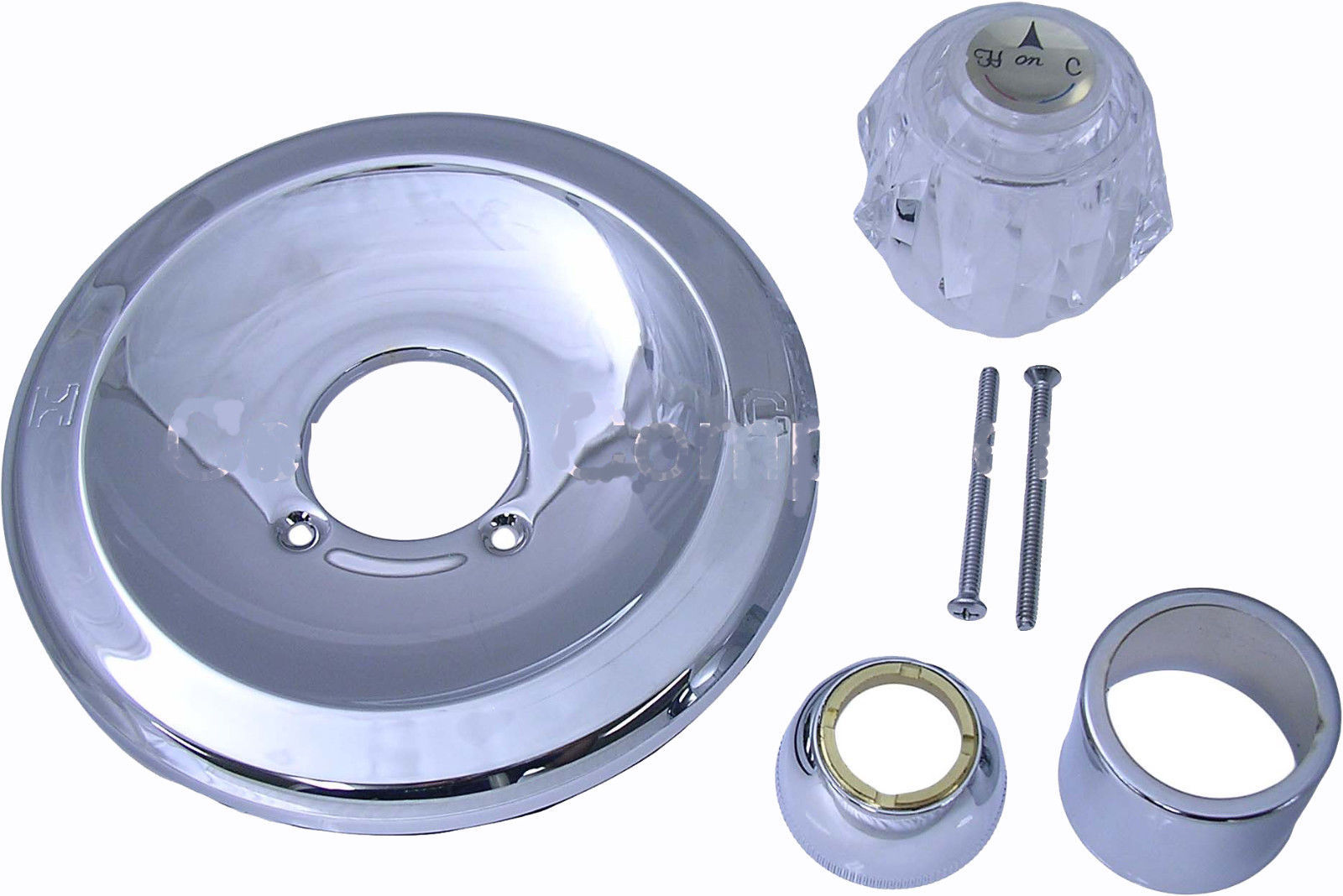 Delta Replacement Trim Kit Brushed Nickel Plated - $59.88