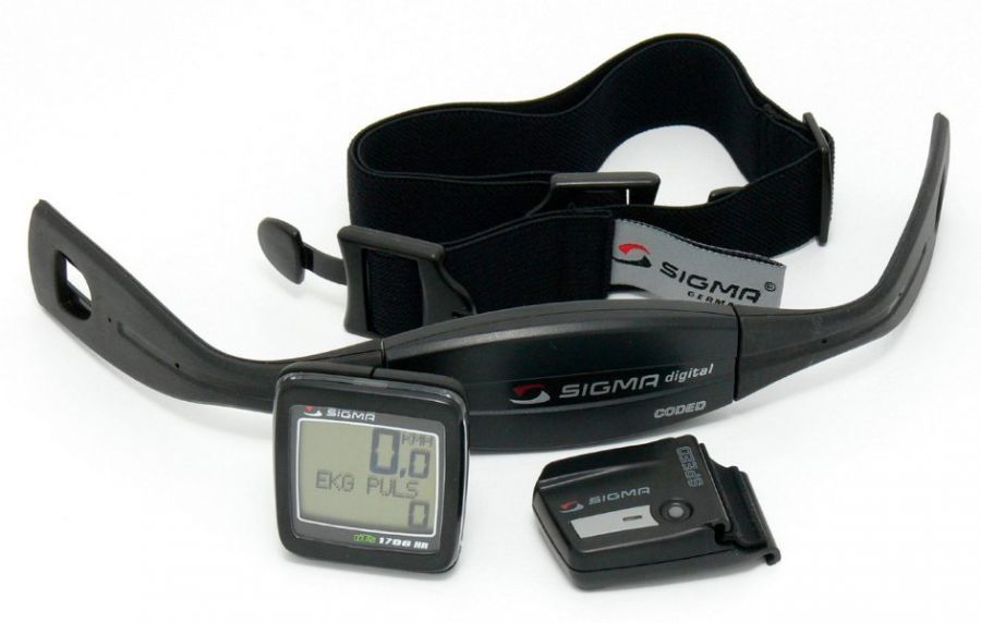 sigma heart rate monitor instructions