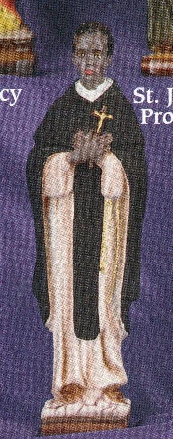 St. martin de porres 12 inch statue