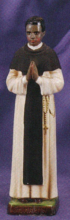St. martin de porres 8 inch statue