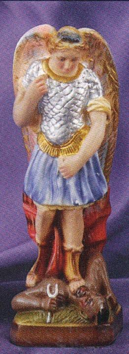 St. michael 8 inch statue