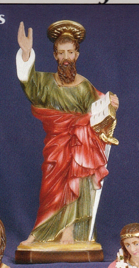St. paul 12 inch statue
