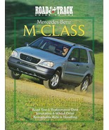 Road & Track GUIDE to the MERCEDES-BENZ M-CLASS magazine 1997 1998 ML 320 - $8.00