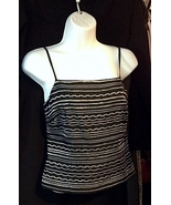NWT NEW! $68 ANN TAYLOR Embroidery Camisole Top 2P Retail $68 - $27.00