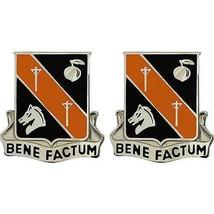 Genuine U.S Army Crest: 40TH Signal Battalion - Bene Factum - $18.79