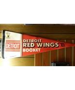 """NHL Detroit Red Wings Vintage Premium Pennant 12"""" x 30"""" - $14.15"""