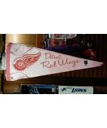 "NHL Detroit Red Wings Pink Premium Pennant 12"" x 30"" - $14.15"