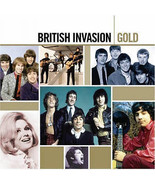 BRITISH INVASION  GOLD   (VARIOUS ARTISTS) - $6.98