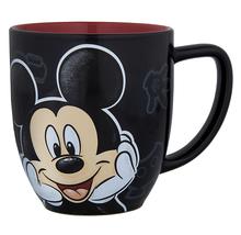 Disney Parks Mickey Mouse Portrait Face Ceramic Mug Cup NEW - $19.90