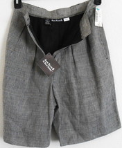 SHORTS SIZE 6 PETITE LINEN STYLE 9262 MADE USA BY ANNE KLEINILL - $16.83