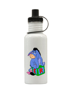 Winnie the Pooh Eeyore Personalized Custom Water Bottle, Add Childs Name - $19.99
