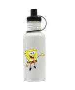 Spongebob Squarepants Personalized Custom Water Bottle, Add Childs Name - $19.99