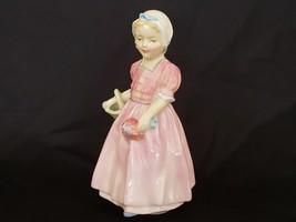 Vintage Royal Doulton Porcelain Girl Figurine, Tinkle Bell HN 1677 - $14.95