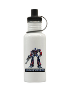 Transformers Optimus Prime Personalized Custom Water Bottle, Add Childs ... - $19.99