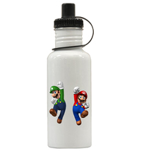 Super Mario Brothers Personalized Custom Water Bottle, Add Childs Name - $19.99