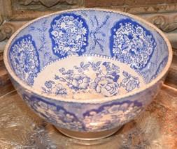 P REGOUT & CO MAASTRIGHT ORIENTAL BLUE WHITE BOWL ANTIQUE 1800's - $79.99
