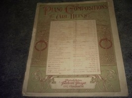 The Black Forest Clock Sheet Music (Piano Compositions) [Sheet Music] By Carl... - $15.09