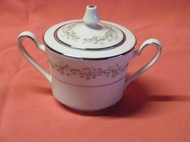 2 Noritake Parkridge Covered Sugar Bowl Fine Porcelain Japan - $14.99