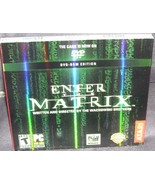 Enter The Matrix DVD-ROM Edition Game for PC NEW! - $19.96