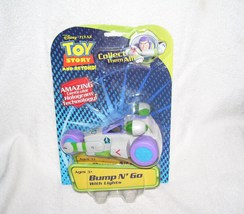 DISNEY PIXAR Toy Story BUZZ LIGHTYEAR Bump n' Go Speed Cruiser LIGHTS UP... - $24.96