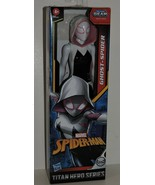 2020 MARVEL TITAN HERO SERIES GHOST-SPIDER POSABLE 12 INCH ACTION FIGURE - $20.00