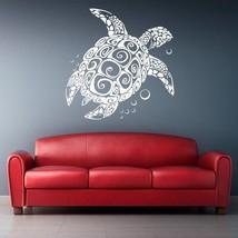 STICKERSFORLIFE Wall Decal Vinyl Sticker Decals Sea Turtle Decal, Tribal... - $33.36