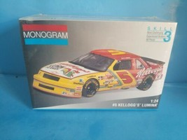 Monogram 1:24 #5 Kelloggs Lumina Nascar Model Kit # 2974 - $18.69