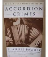 Accordion Crimes by E Annie Proulx Paperback 1996 - $1.00