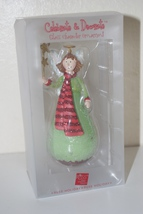 Russ Holiday Celebrate & Decorate Christmas  Angel Ornament - $14.95