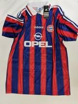 NWT Rare 1995-1997 Adidas Bayern Munich Home Shirt 'Klinsmann 18', Size (L) - $148.49
