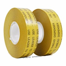 "2 rolls 3/4"" ATG Adhesive Transfer Tape (Fits 3M Gun) Photo Crafts Scrap... - $12.86"