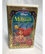 The Little Mermaid (VHS 12731,1998 Special Edition) Disney, Fully Restor... - $4.55