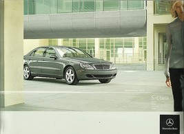 2005 Mercedes-Benz S-CLASS brochure catalog US 05 430 500 600 55 AMG - $12.00